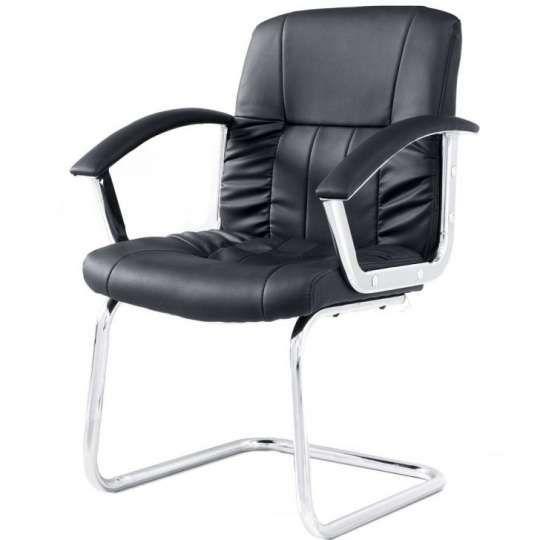 Cadeira Office Fixa Still Importada - Preto