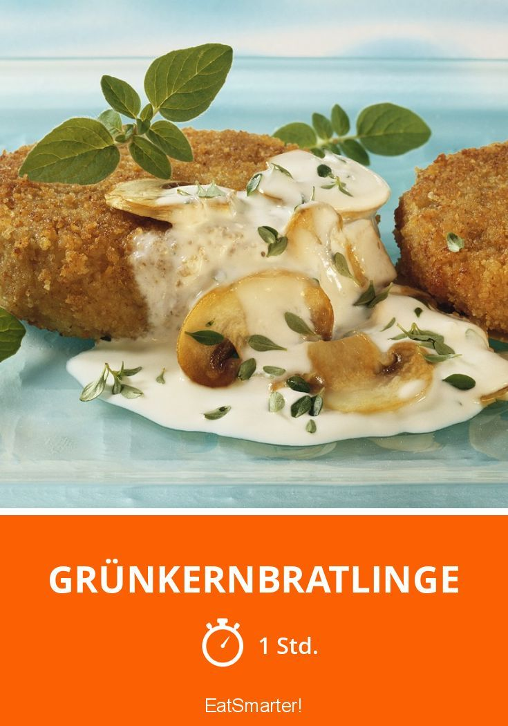 Grünkernbratlinge - smarter - Zeit: 1 Std. | eatsmarter.de