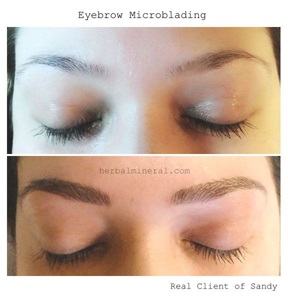 Eyebrow embroidery men makaroka