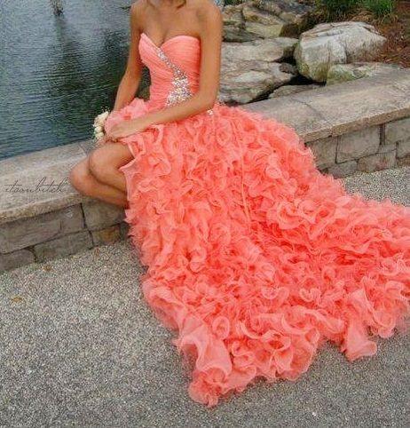 delicious color.  gorgeous gown