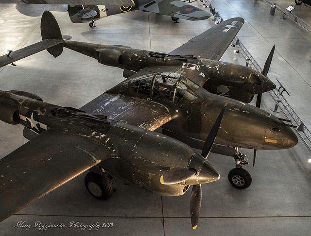 Lockheed P-38 Lightning #flickr #plane #WW2