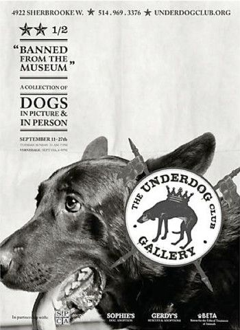 Contemporary Montreal Poster, Underdog: Elliot - Breslaw