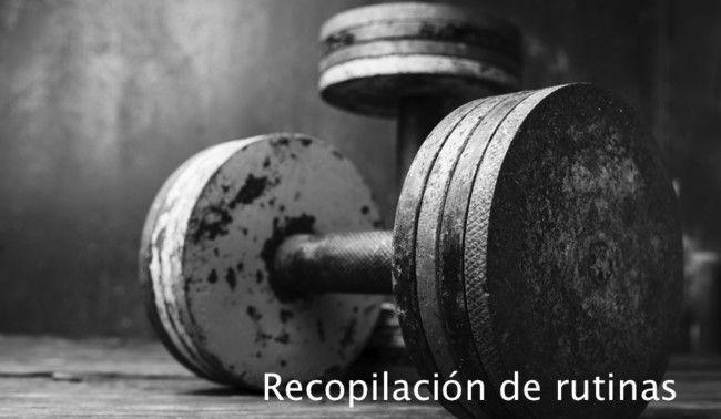 Recopilación de rutinas: fullbody clásica (I)
