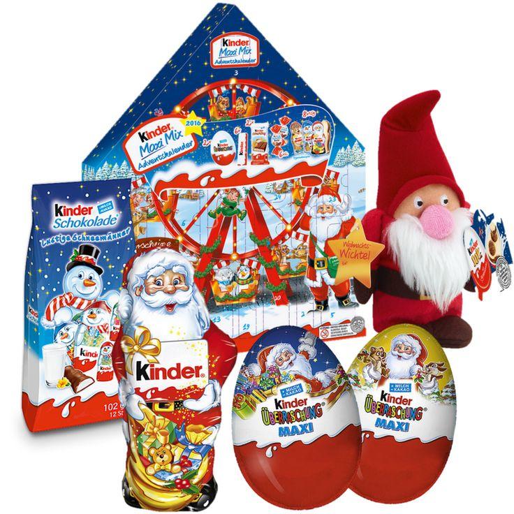 Kinder Advent Calendar Set Maxi Mix Kinder Advent Calendar Mini Mix Set #christmas #adventcalendar #xmas #christmasgifts