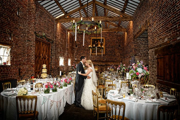 Bride & Groom at the Tithebarn, Meols Hall, Southport ...