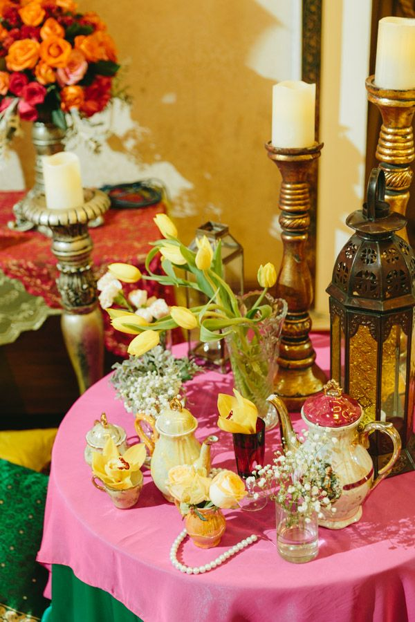 Erwin + Airin Engagement Party :: Vintage meets Moroccon :: Decoration by Butterfly Event Styling