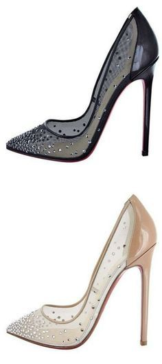 I could never walk in them but I love the design! Louboutins | LBV ♥✤ | KeepSmiling | BeStayElegant