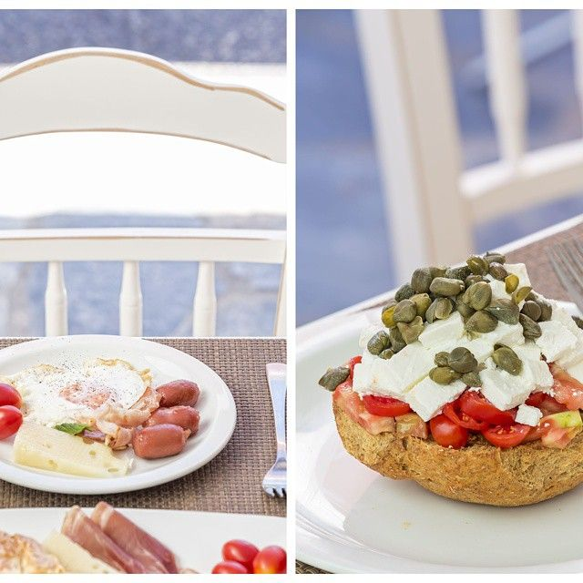 Taste the best #breakfast! #KallistiThera #Santorini