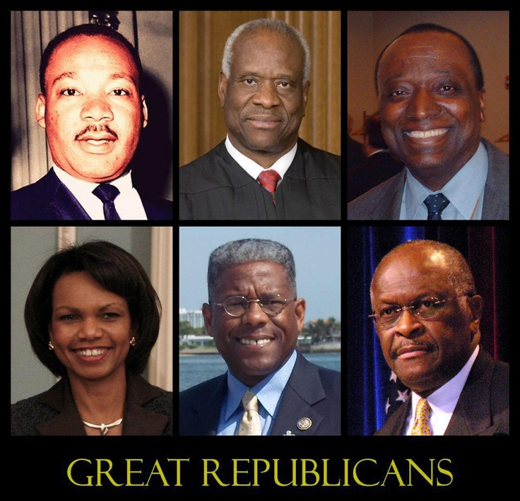 Great Republicans. And many many more. Sad Colin Powell doesn't make the list any longer.