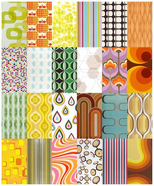 70's Geometric Wallpapers