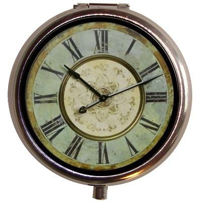 Cape Craftsmen Wooden Clock In Aqua   Walmart