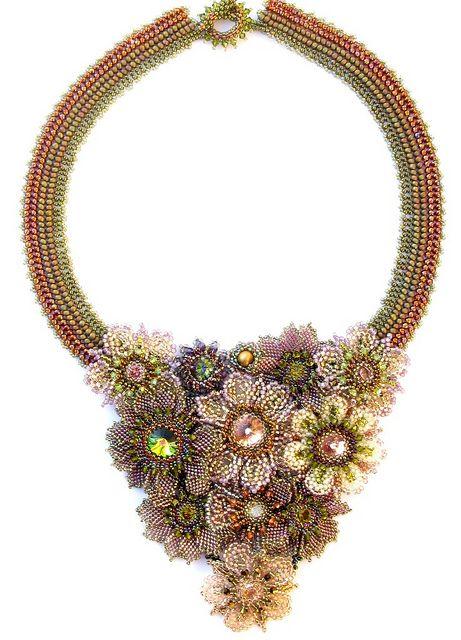 Lilac Blossom Necklace by Cielo Design, via Flickr