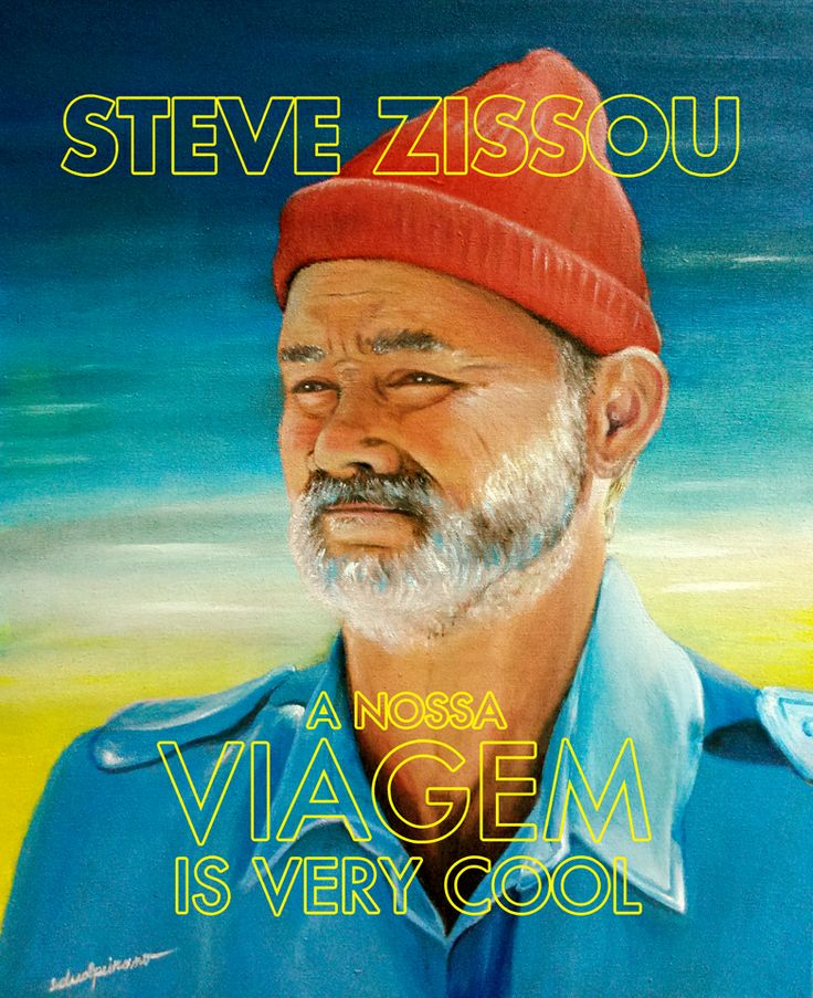 My tribute to this genius crew. Wes Anderson + Seu Jorge + Bill Murray