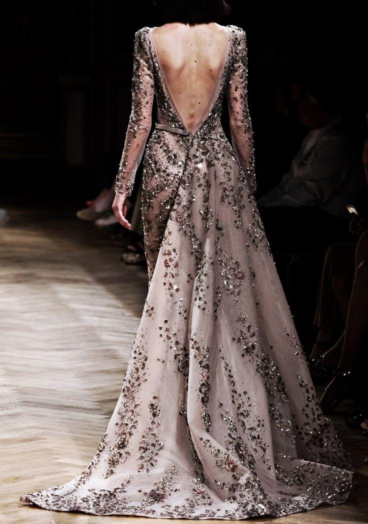"vo-guecafe: ""runwayandbeauty: "" Back Detail: Ziad Nakad Haute Couture Fall/Winter 2016-17. "" """