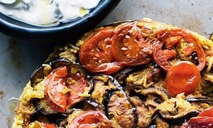 Great rice dishes including Yotam Ottolenghi and Sami Tamimi's maqluba