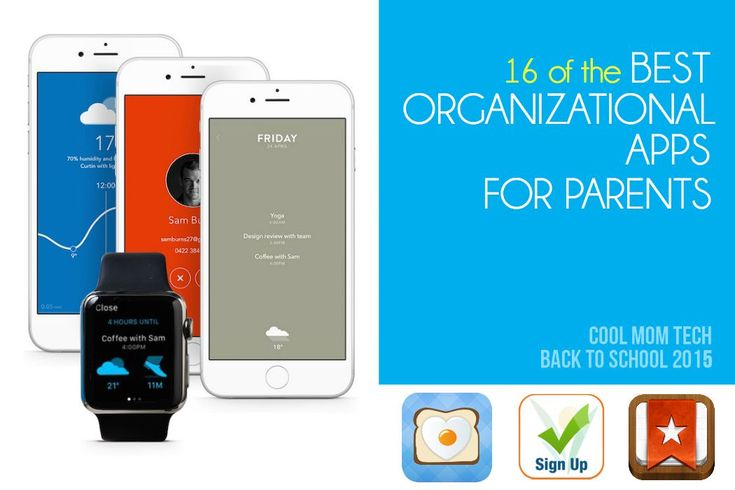 16 of the best organizational apps for parents from meal planning to budgeting to team sports  | Back to school Tech 2015 |