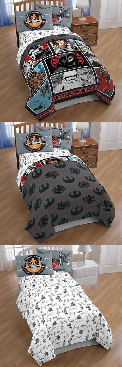 Sleeping Bags 48091: Star Wars:Episode Vii Galactic Battle Twin Full Comforter And Twin 3Pc Sheet Set -> BUY IT NOW ONLY: $74.89 on eBay!