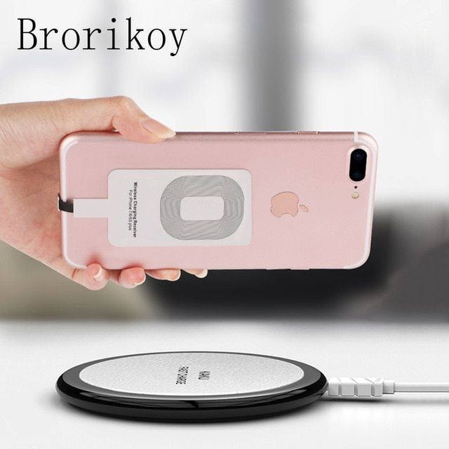 Black 10w Binazon Wireless Charging Pad Iphone Android Binazon Store Wireless Charger Wireless Charging Pad Wireless Charger Iphone