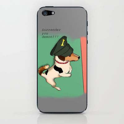 General Mr Badger iPhone & iPod Skin by Mr Badger & Little Stitch - $15.00