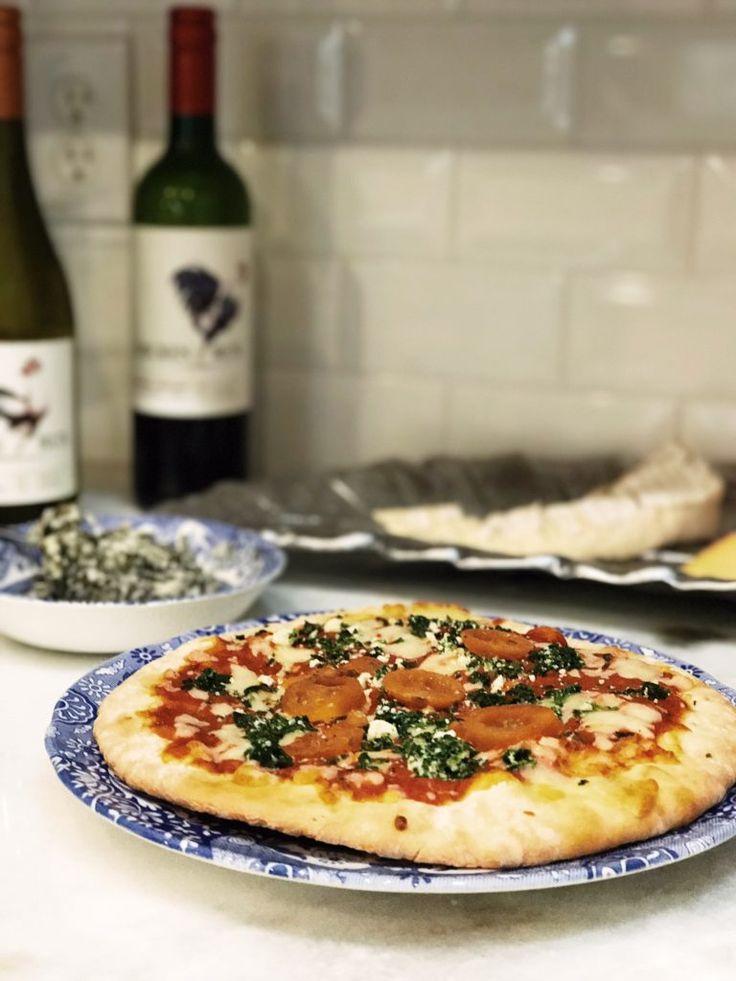 Delicious pizza and wine from Earth Fare organic grocery store in Seminole, Florida | The Champagne Supernova