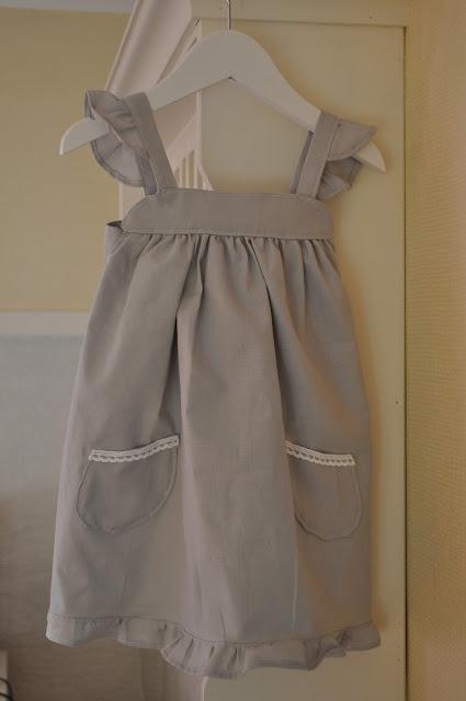 """Have to make a """"old-ish"""" dress for My Princess. This one is my friends pattern.  Må bare lage en gammeldags kjole for My Princess. Denne har en venninne laget mønsteret til og sydd."""