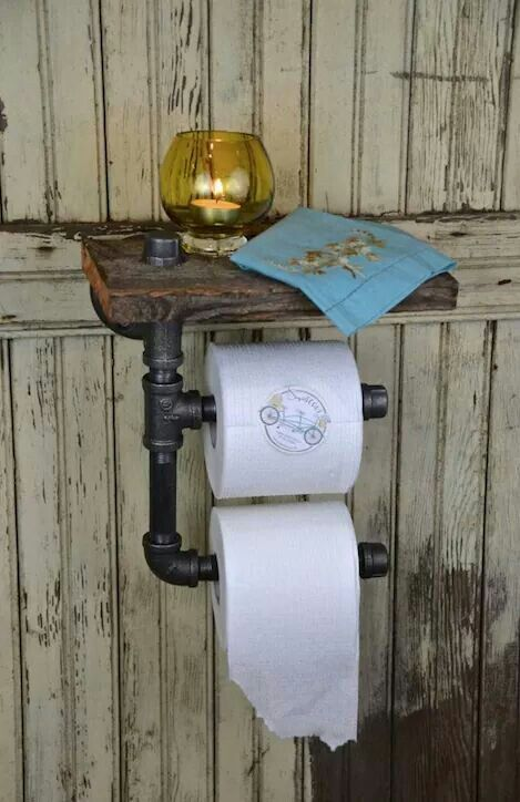 1000 Ideas About Rustic Toilet Paper Holders On Pinterest