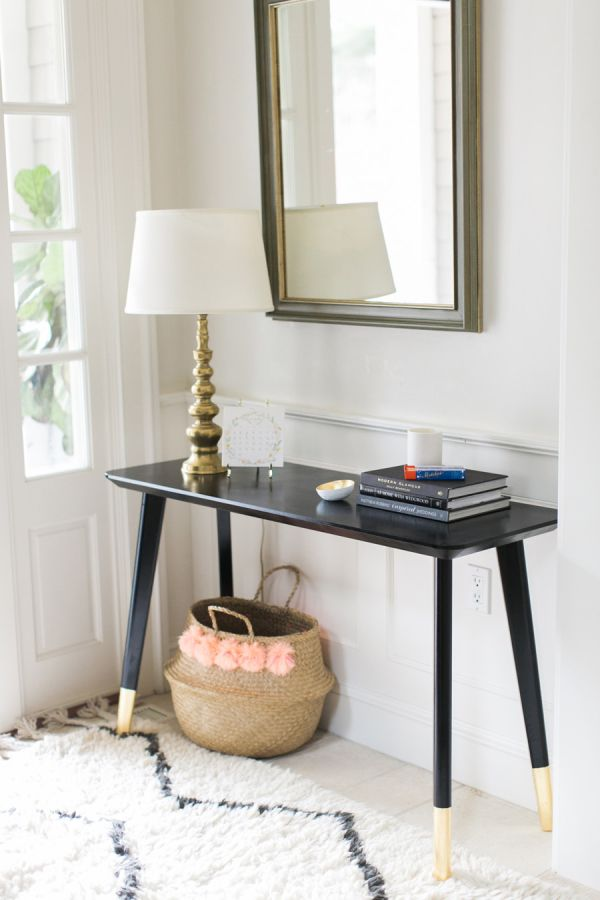 An Ikea Entryway Table Hack So Simple Anyone Can Do It
