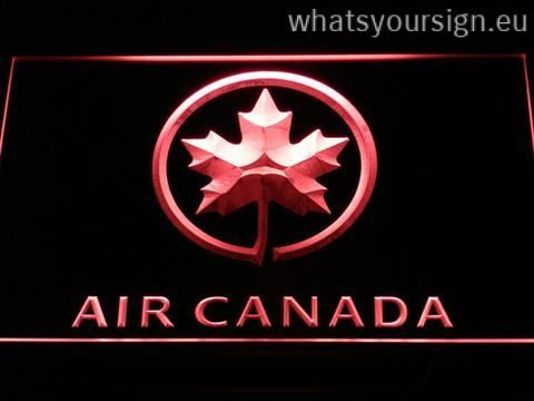 Air Canada - LED neon sign light display made of the best-quality transparent acrylic and bright colorful LED lighting. The neon sign looks exactly the same from every angle thanks to the carving with the modern 3D laser engraving process. This LED neon sign is a great gift idea! The neon is provided with a metal chain for displaying. Available in 3 sizes in following colours: Green, Red, White, Yellow, Orange, Blue and Purple!