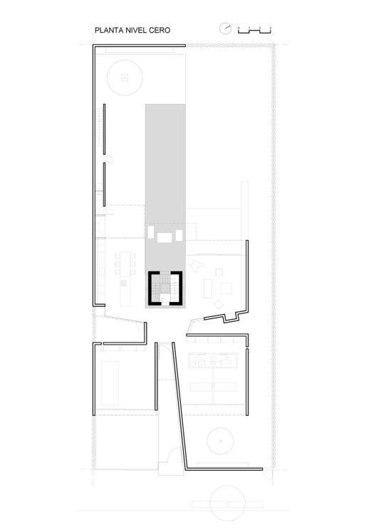 Bunker House,Floor Plan