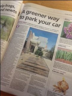 Always a pleasure to see what our client GreenArt Garden Design have to say in the Oxford Times. To have your say in the local paper, contact us at www.pushstartmarketing.co.uk