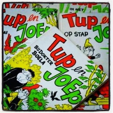 Wie kent deze gekke apen Tup en Joep uit de jaren '70/80? Andrea neemt je mee in haar herinnering in de nieuwste showoff van Vintage NL. #vintage #kinderboeken #apen #tupenjoep