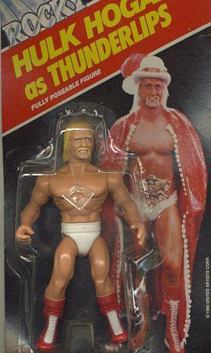 Hulk Hogan as Thunderlips toy