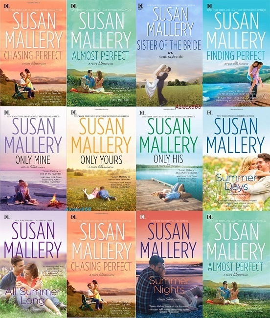 Susan Mallery Romances - I've read all of these! Very good :)