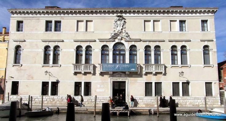 Palazzo Giustiniani, Museo del Vetro, Murano