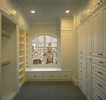 MICHAEL MOLTHAN LUXURY HOMES - traditional - closet organizers - dallas - MICHAEL MOLTHAN LUXURY HOMES