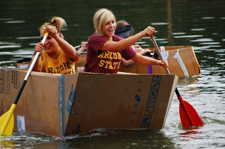 Cardboard boat race / ASU