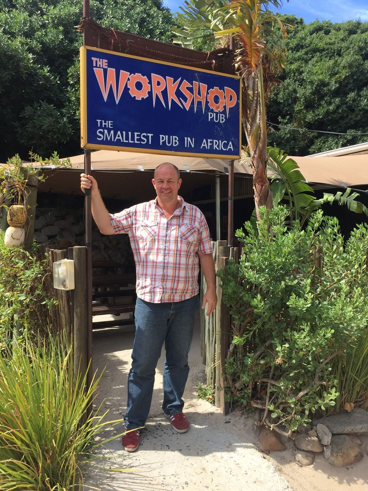 Holger visits The Workshop in hout Bay, which claims to be the smallest pub in Africa.