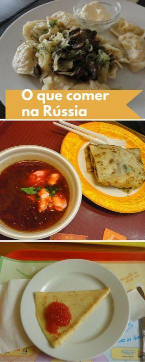 Alguns sabores russos e outros nem tão russos assim: o que encontramos na cozinha russa