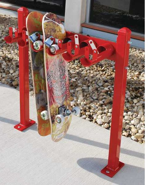 Locking Skateboard Rack Plans Woodworking Projects Plans