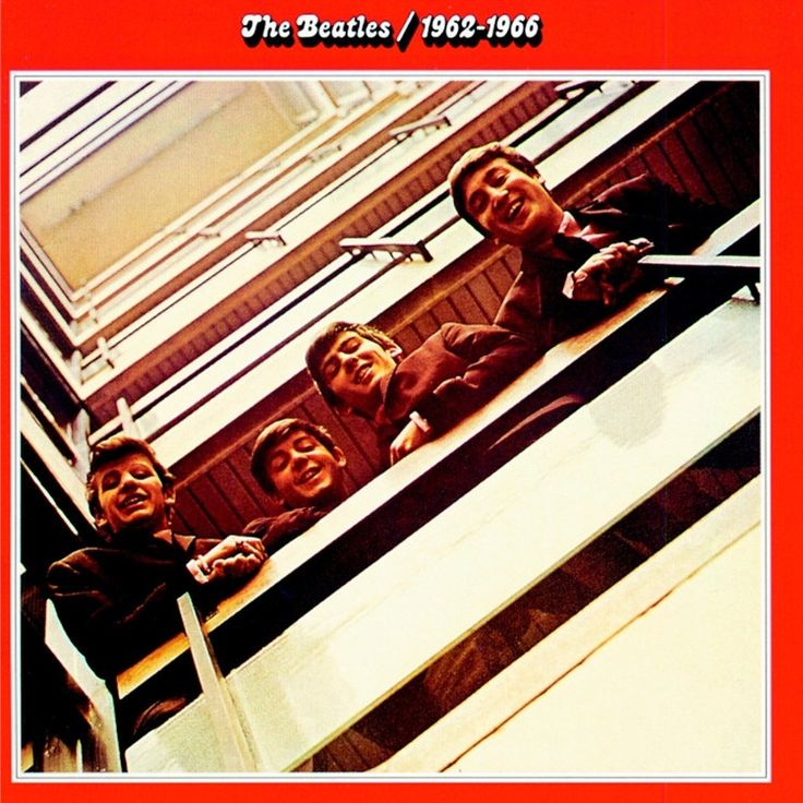 The Beatles - 1962-1966 (The Red Album) on 180g 2LP