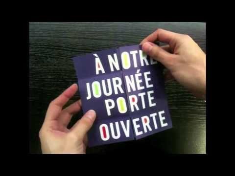 Eine Französische Schule Für Kommunikationsdesign (EME, Paris) Ließ Für  Ihren Tag Der Offenen