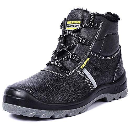 4476b9d149f4f CHNHIRA Chaussure de securité Homme Unisex Chaussure de Travail ...