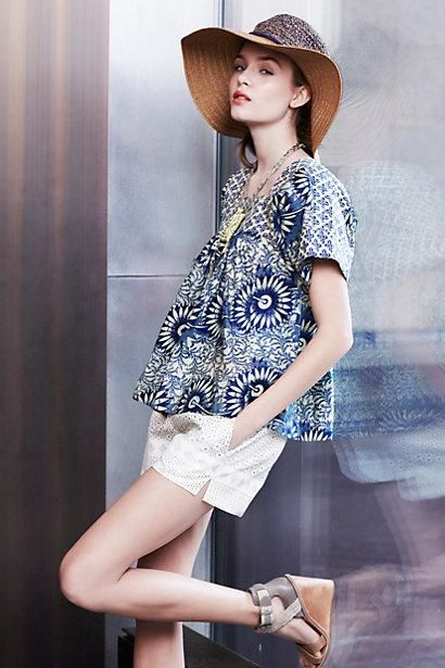 Blouse from anthropologie. But will look at World Market first.