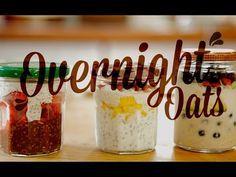 Eliane Contreras, editora de nutrição de Boa Forma, ensina receitas rápidas de overnight oats, uma alternativa leve e saudável para o café da manhã ou lanche.