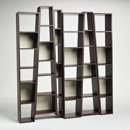 Open Double Sided Bookcase BEAT By I 4 Mariani Design Alessandro Dubini