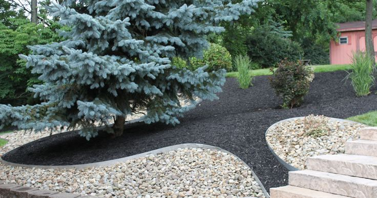 25 best ideas about river rock landscaping on pinterest rock flower beds stone landscaping - Tips using rock landscaping ...