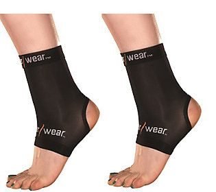Copper Wear Compression Sleeve for Ankle - Setof 2
