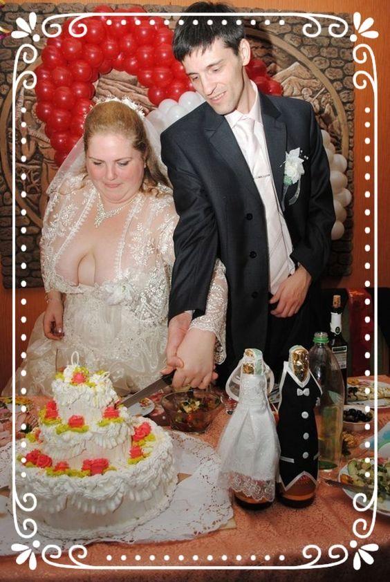 YIKES!  Funny wedding photo Redneck.
