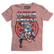 Playera Hail Hydra Mascara De Latex Capitan America Marvel