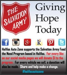 Help the Halifax Auto Zone to help the Salvation Army...Feed the Need. #halifaxautozone